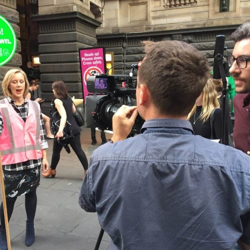 Video Production Melbourne With Clair Hooper